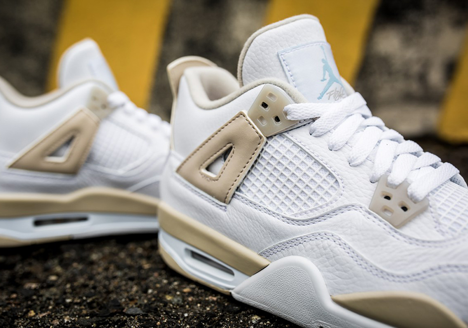 "Nike Air Jordan 4 ""Linen"" release Links"