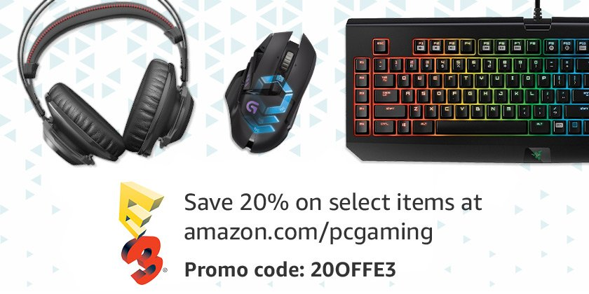 Celebrate E3 with 20% offGaming