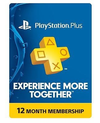 [1-year]PlayStation Plus for $48