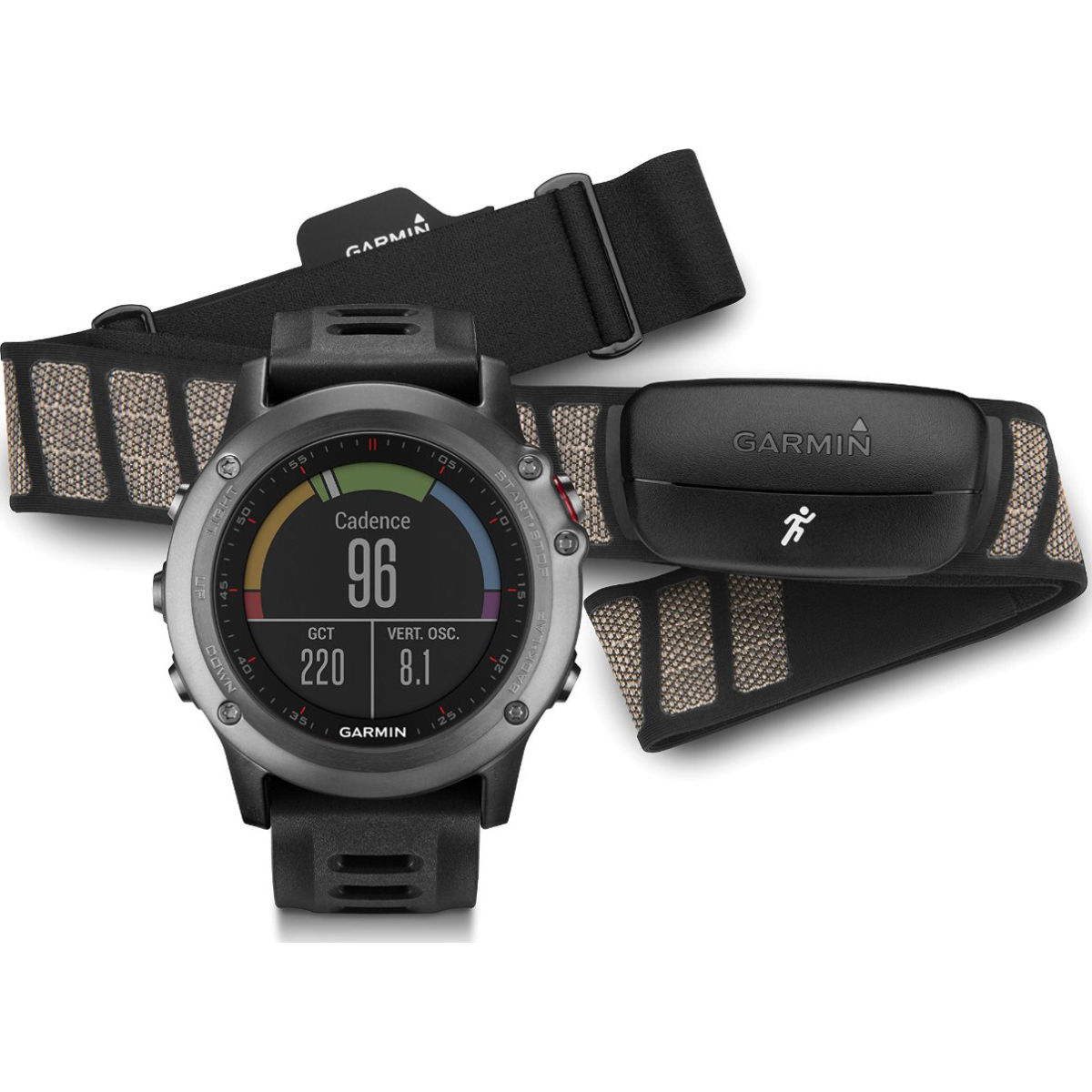 Garmin fenix 3 Multisport Training GPS Watch [$299]