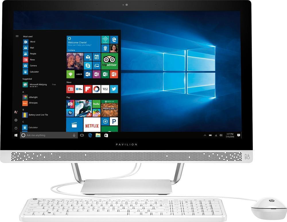 HP – 23.8″ Touch-Screen All-In-One – AMD A8-Series – 4GB Memory – 1TB HD [$429]