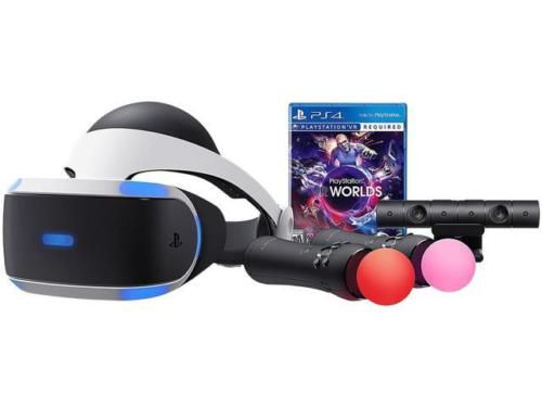 PlayStation VR – VR Worlds Bundle – PlayStation 4 for $399